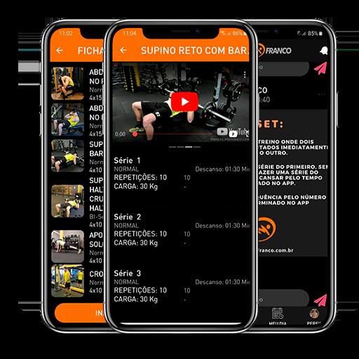 Filipe Franco Personal Trainer App de treinamento