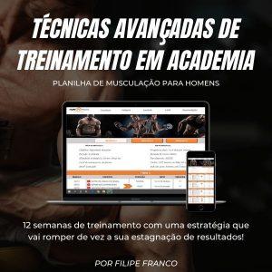 Planilha de musculação para HOMENS - Filipe franco consultoria fitness online